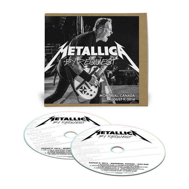 Live Metallica: Montreal, Canada - August 9, 2014 (2CD), , hi-res