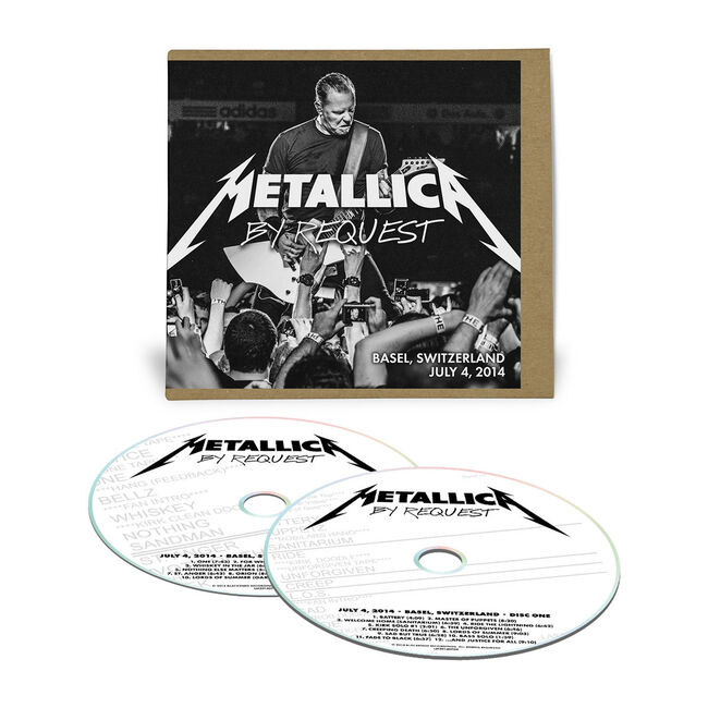 Live Metallica: Basel, Switzerland - July 4, 2014 (2CD), , hi-res