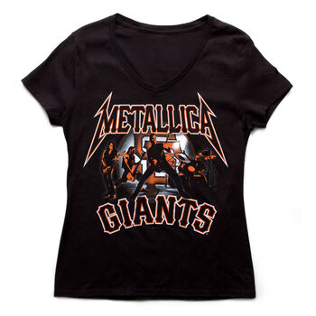 SF Giants Band Silhouette Women's T-Shirt, , hi-res
