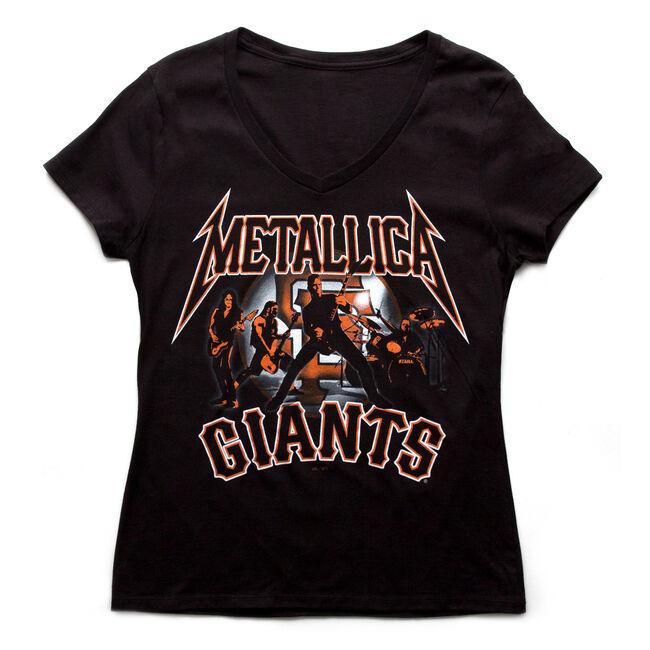 SF Giants Band Silhouette Women's T-Shirt, , hi-res