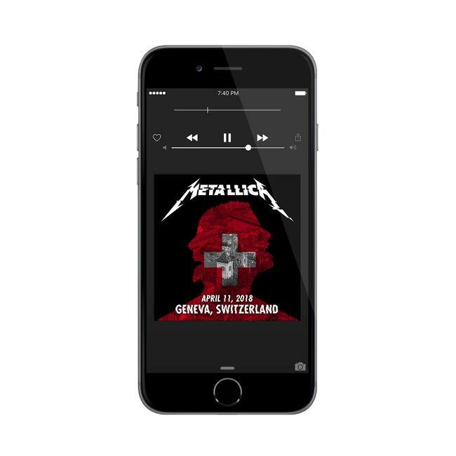 Live Metallica: Geneva, Switzerland - April 11, 2018 (Digital Download), , hi-res