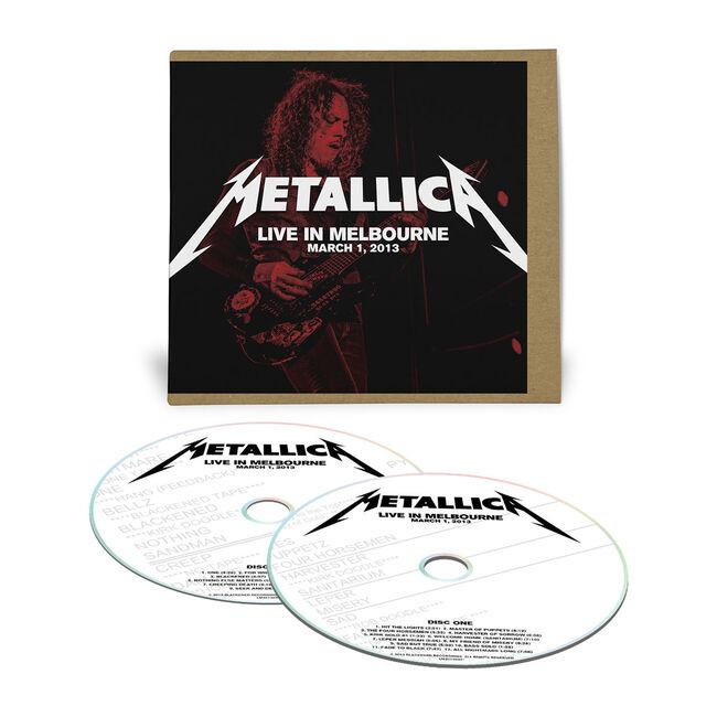 Live Metallica: Melbourne, Australia - March 1, 2013 (2CD), , hi-res