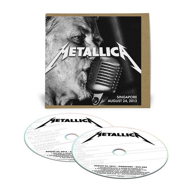 Live Metallica: Singapore, Singapore - August 24, 2013 (2CD), , hi-res