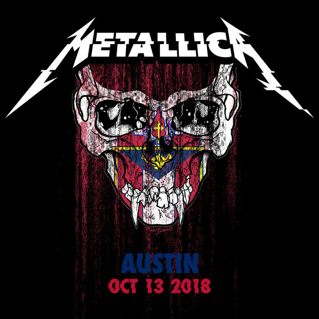 Live Metallica: Austin City Limits at Zilker Park, Austin, TX - October 13, 2018 (2CD), , hi-res