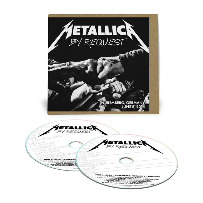 Live Metallica: Nuremberg, Germany - June 6, 2014 (2CD), , hi-res