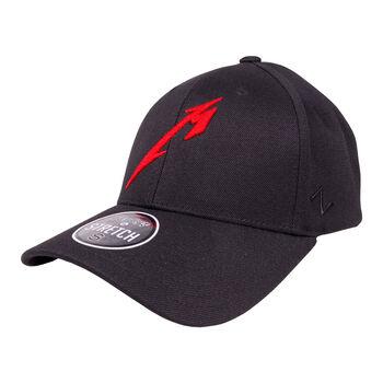 M Red Logo Flex Fit Hat, , hi-res