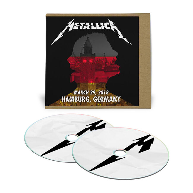 Live Metallica: Hamburg, Germany - March 29, 2018 (2CD), , hi-res