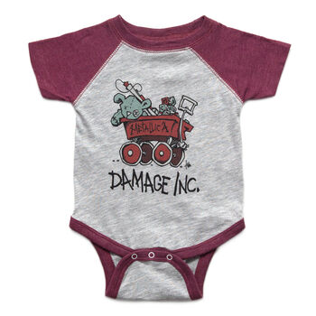 Damage, Inc. Wagon Onesie, , hi-res