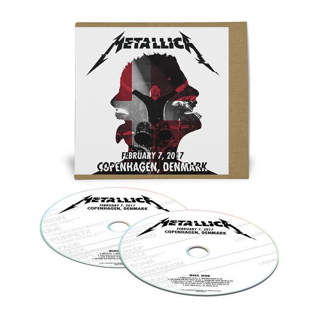 Live Metallica: Copenhagen, Denmark - February 7, 2017 (2CD), , hi-res