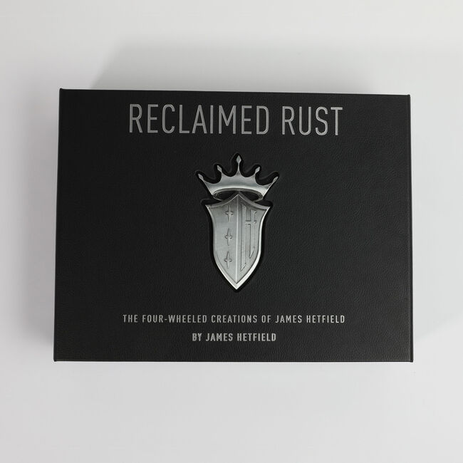 Reclaimed Rust: The Four-Wheeled Creations of James Hetfield (Limited Edition Box Set), , hi-res