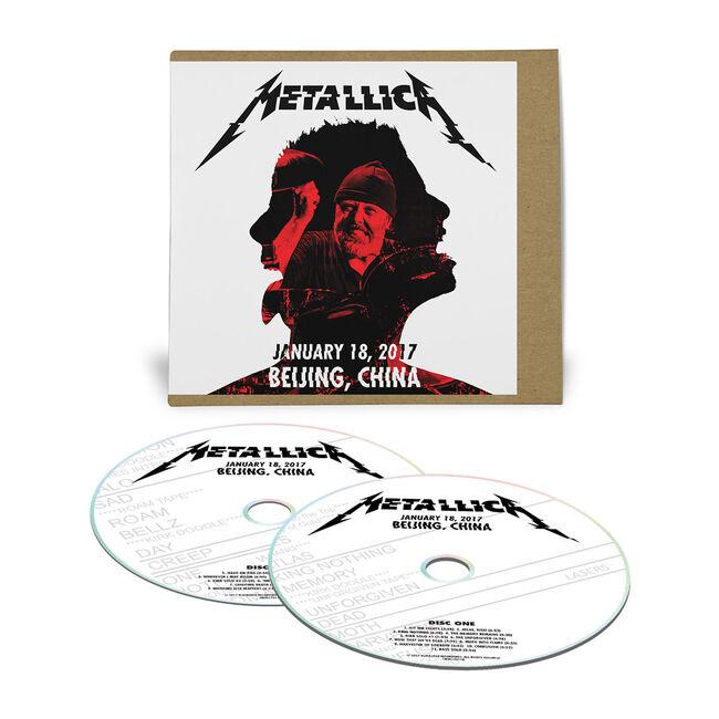 Live Metallica: Beijing, China - January 18, 2017 (2CD), , hi-res