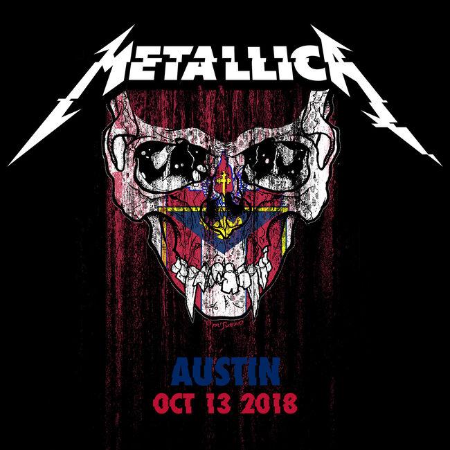 Live Metallica: Austin City Limits at Zilker Park, Austin, TX - October 13, 2018 (2CD), , hi-res