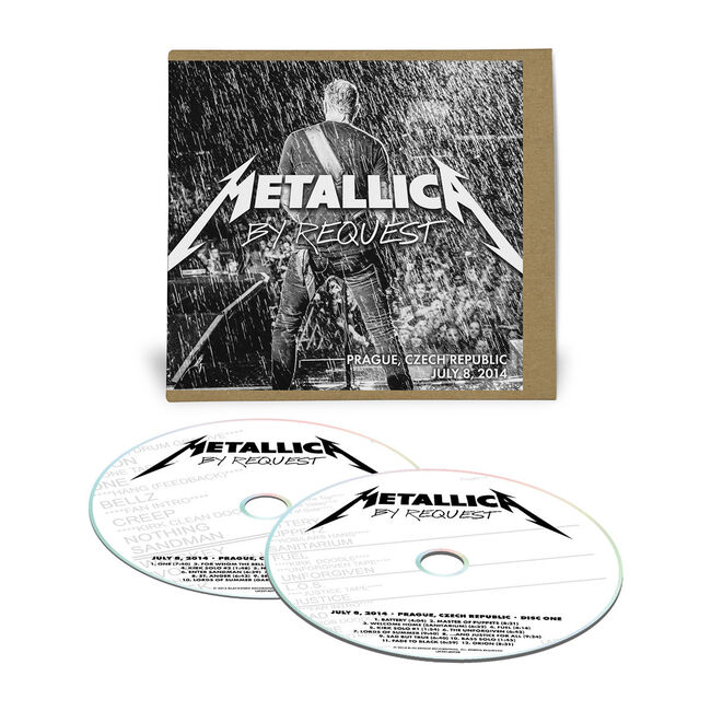 Live Metallica: Prague, Czech Republic - July 8, 2014 (2CD), , hi-res