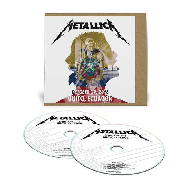 Live Metallica: Quito, Ecuador - October 29, 2016 (2CD), , hi-res