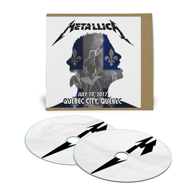 Live Metallica: Quebec City, Canada – July 14, 2017 (2CD), , hi-res