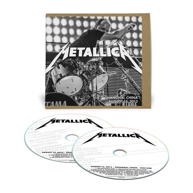 Live Metallica: Shanghai, China - August 13, 2013 (2CD), , hi-res