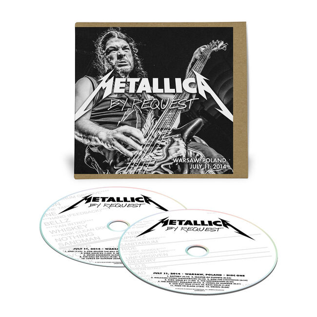 Live Metallica: Warsaw, Poland - July 11, 2014 (2CD), , hi-res