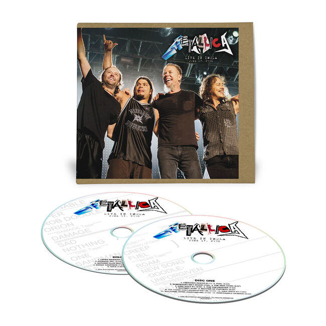 Live Metallica: Imola, Italy - June 17, 2006 (2CD), , hi-res