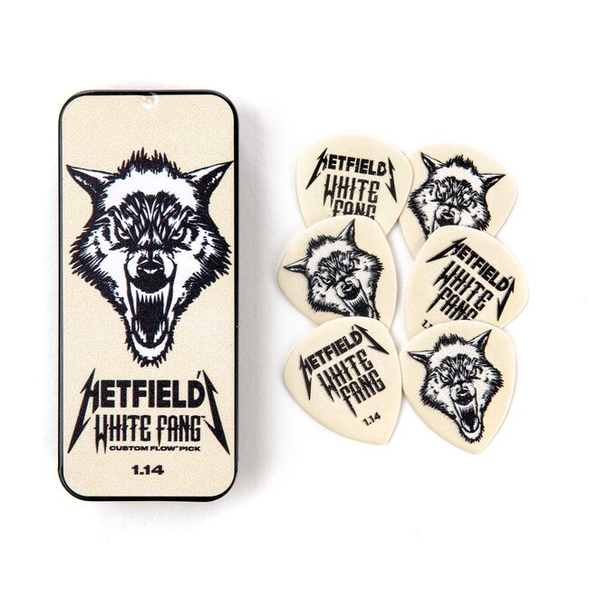 White Fang Pick Tin (1.14MM), , hi-res