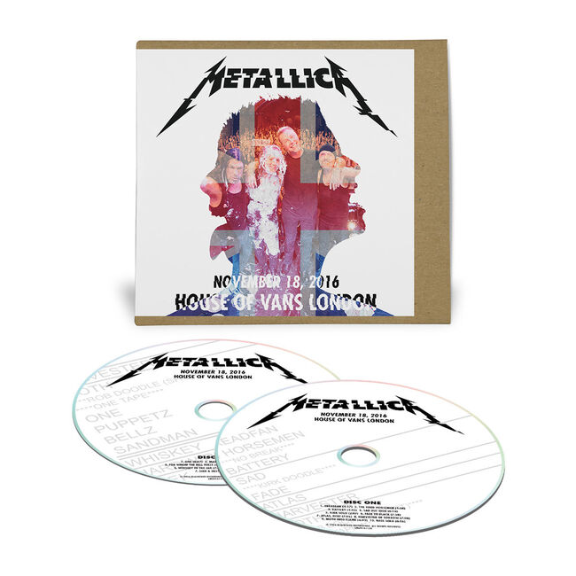 Live Metallica: House of Vans in London, United Kingdom - November 18, 2016 (2CD), , hi-res