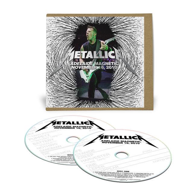 Live Metallica: Adelaide, Australia - November 16, 2010 (2CD), , hi-res