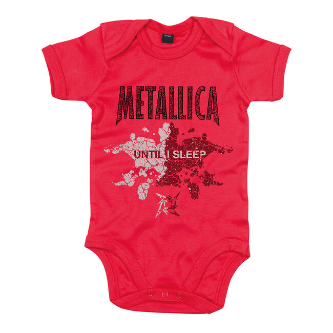 Until I Sleep Onesie (Red) - 12/18 Months, , hi-res