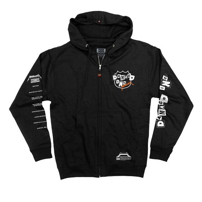 Puck Hcky x Metallica Damage Inc. Hockey Hoodie, , hi-res