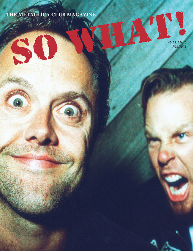 So What! Volume 6, Issue 1, , hi-res