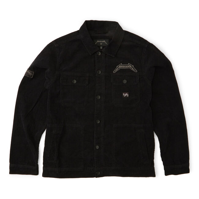Billabong x Metallica BLACK ALBUM Jacket - Medium, , hi-res