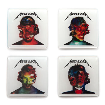 Hardwired Album Covers Coaster Set, , hi-res