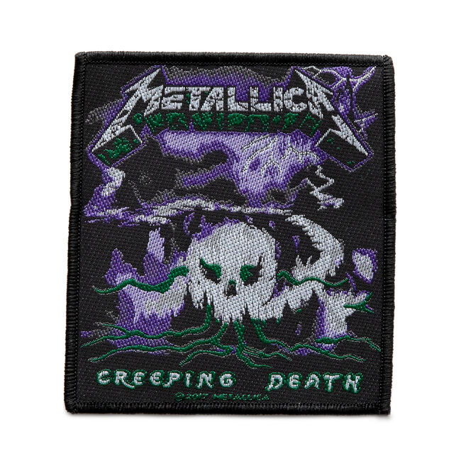 Creeping Death Woven Patch, , hi-res