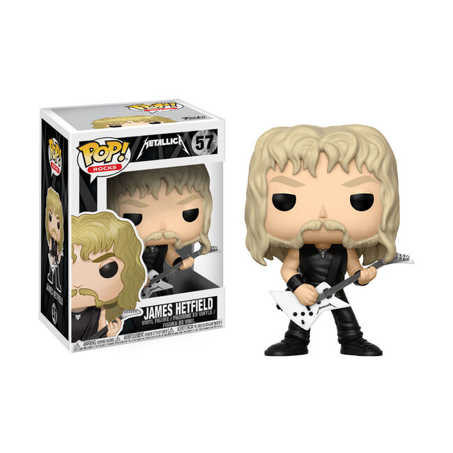 Funko POP! Rocks: James Hetfield Action Figure, , hi-res