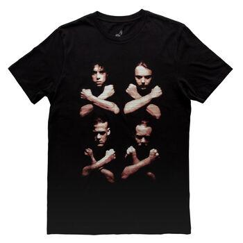 Birth Death Crossed Arms T-Shirt, , hi-res