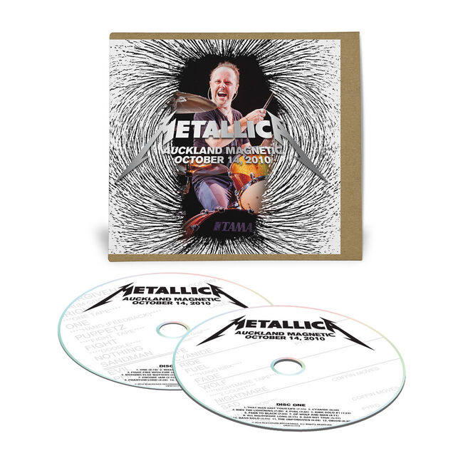 Live Metallica: Auckland, New Zealand - October 14, 2010 (2CD), , hi-res