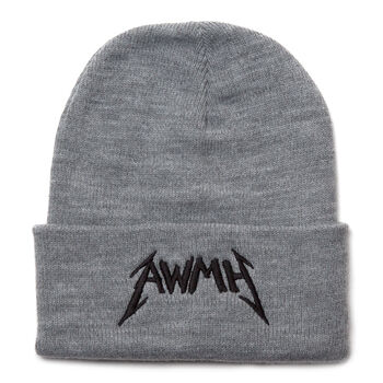 All Within My Hands Cuffed Beanie (Grey), , hi-res