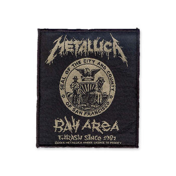 Bay Area Thrash Woven Patch, , hi-res