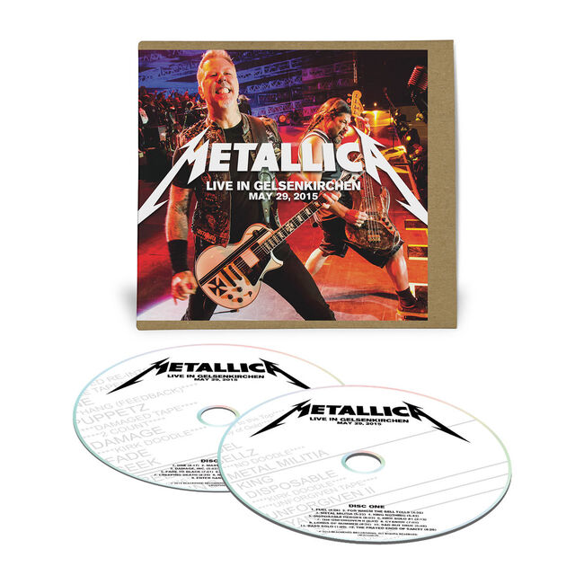 Live Metallica: Gelsenkirchen, Germany - May 29, 2015 (2CD), , hi-res
