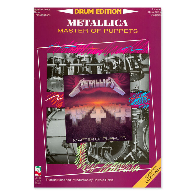 Master Of Puppets - Drum Transcription Book, , hi-res