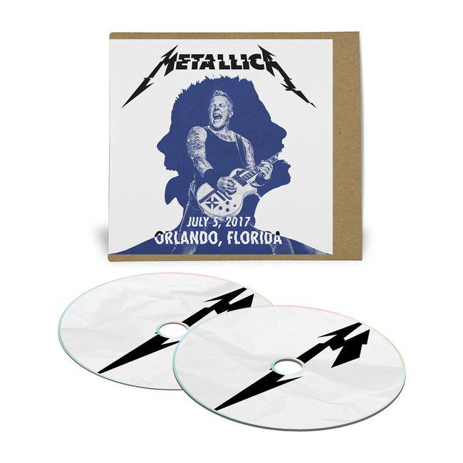 Live Metallica: Orlando, FL – July 5, 2017 (2CD), , hi-res