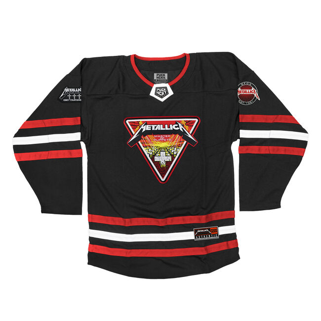 Puck Hcky x Metallica Master of Puppets Hockey Jersey, , hi-res