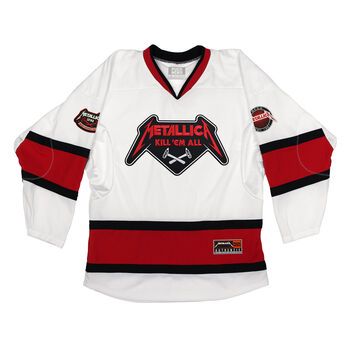 Puck Hcky x Metallica Kill 'Em All Hammer Hockey Jersey, , hi-res