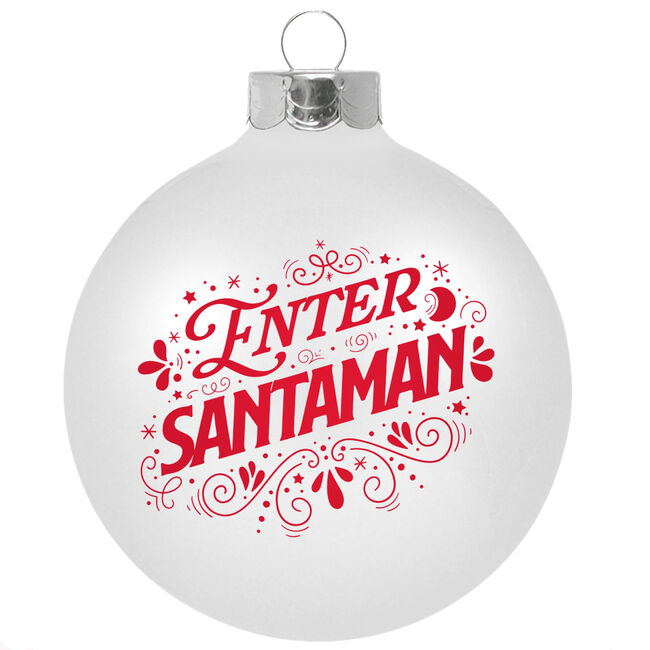 Enter Santaman Holiday Ornament, , hi-res