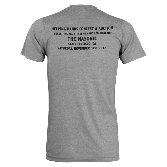 All Within My Hands Benefit Show T-Shirt (Grey), , hi-res