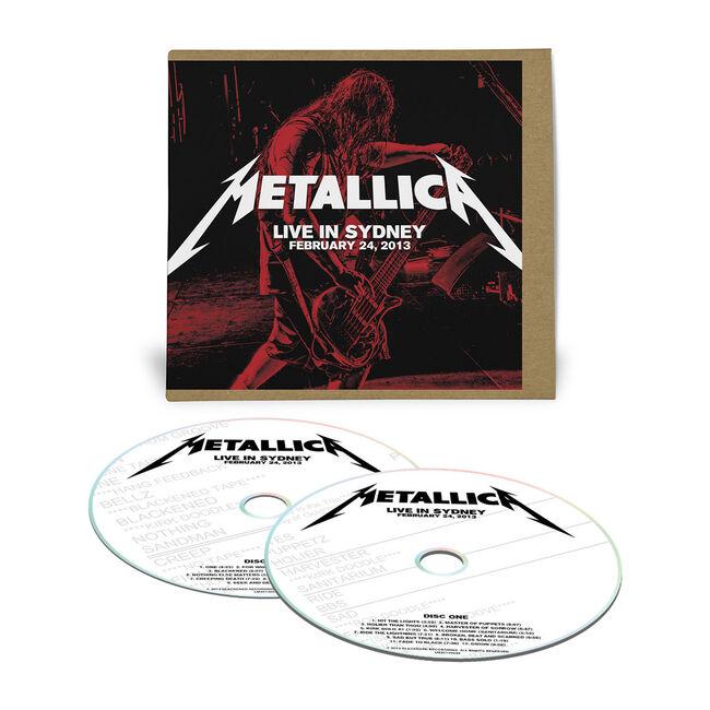 Live Metallica: Sydney, Australia - February 24, 2013 (2CD), , hi-res
