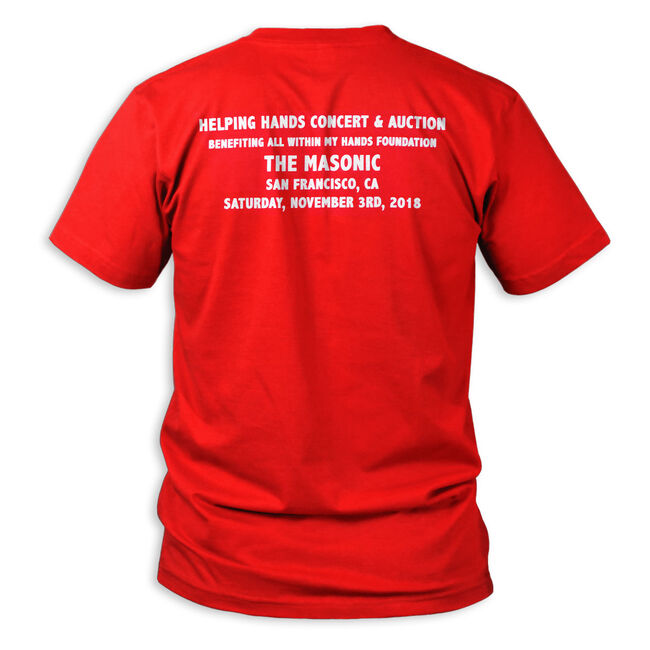All Within My Hands RED Event T-Shirt - 2XL, , hi-res