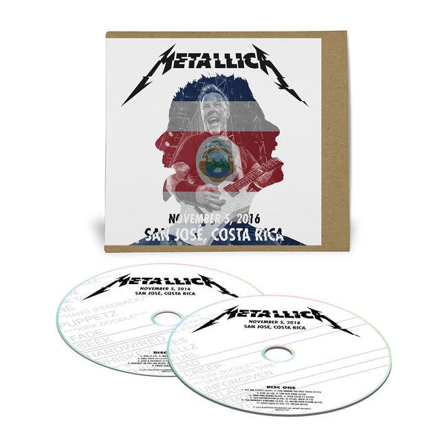 Live Metallica: San José, Costa Rica - November 5, 2016 (2CD), , hi-res