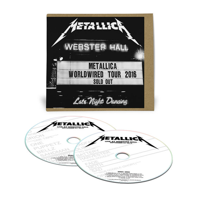 Live Metallica: Webster Hall in New York, NY - September 27, 2016 (2CD), , hi-res