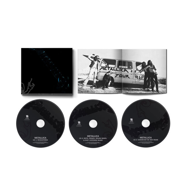 Metallica (The Black Album) Remastered - 3-CD Expanded Edition, , hi-res