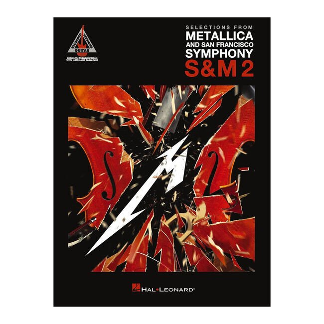 S&M2 - Selections from Metallica & SF Symphony Guitar Tablature Book, , hi-res