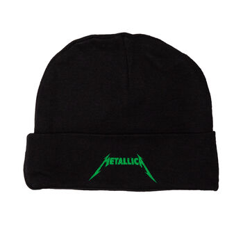 Infant Green Logo Beanie (Black), , hi-res